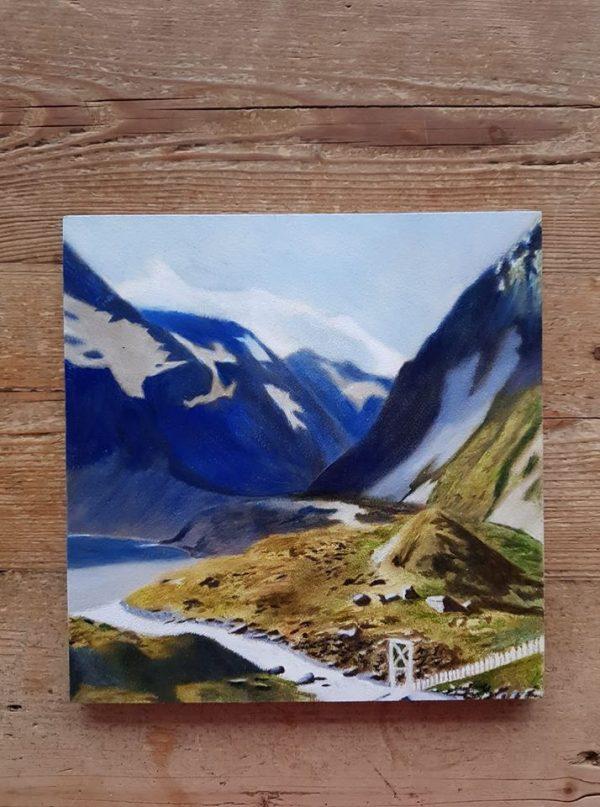 Nieuw-Zeeland schilderij
